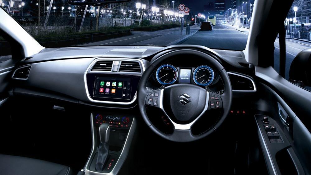 Gambar bagian dashboard mobil Suzuki SX4 S-Cross 2018