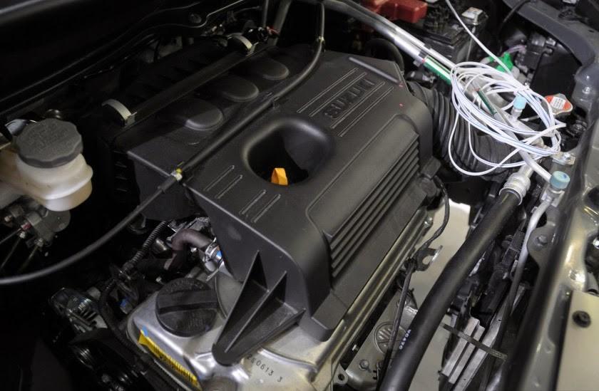 Gambar bagian mesin mobil Suzuki Karimun 2018