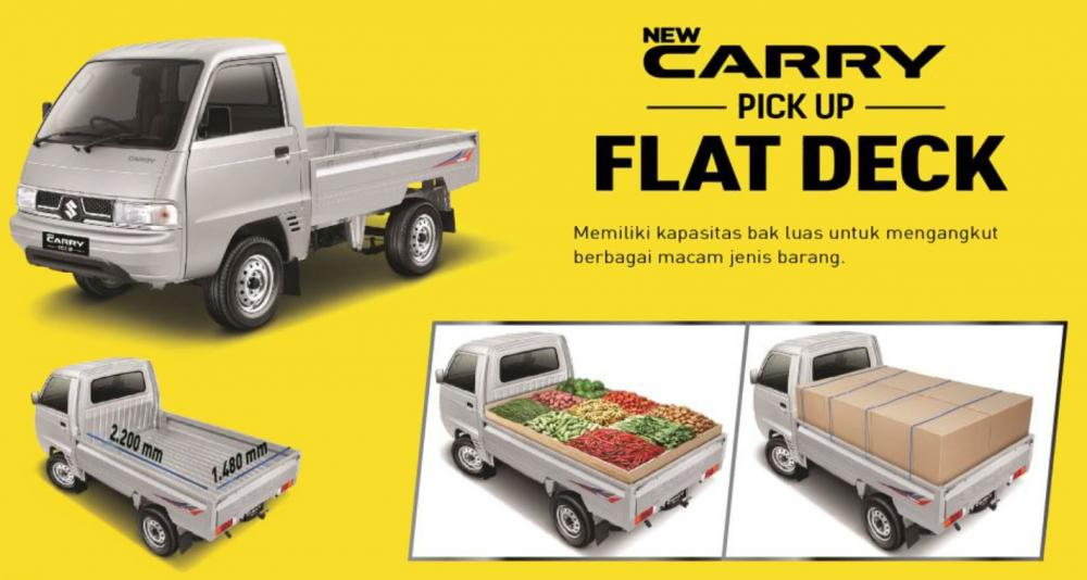Varian-varian mobil Suzuki Carry Pick Up di pasar Indonesia