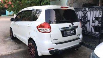 Suzuki Ertiga Tipe GX Manual Tahun 2012 Putih Velg R18 Mulus , 2013