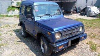 Suzuki Katana gx Th 2004 biru metalik komplit