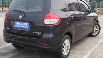 Suzuki Ertiga1.4 GL Bensin M/T 2012 Hitam Metalik