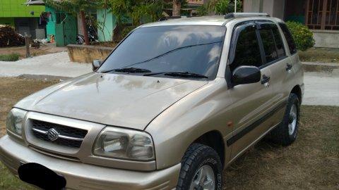 Jual mobil Suzuki Escudo 2004 bekas di Sumatra Selatan