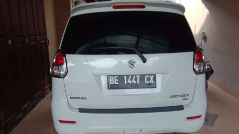 Jual mobil Suzuki Ertiga GL 2013 murah di Lampung