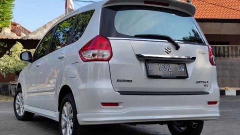 Suzuki Ertiga 1,4 GX Elegant Matic 2015 Putih Plat L Km Low Terawat